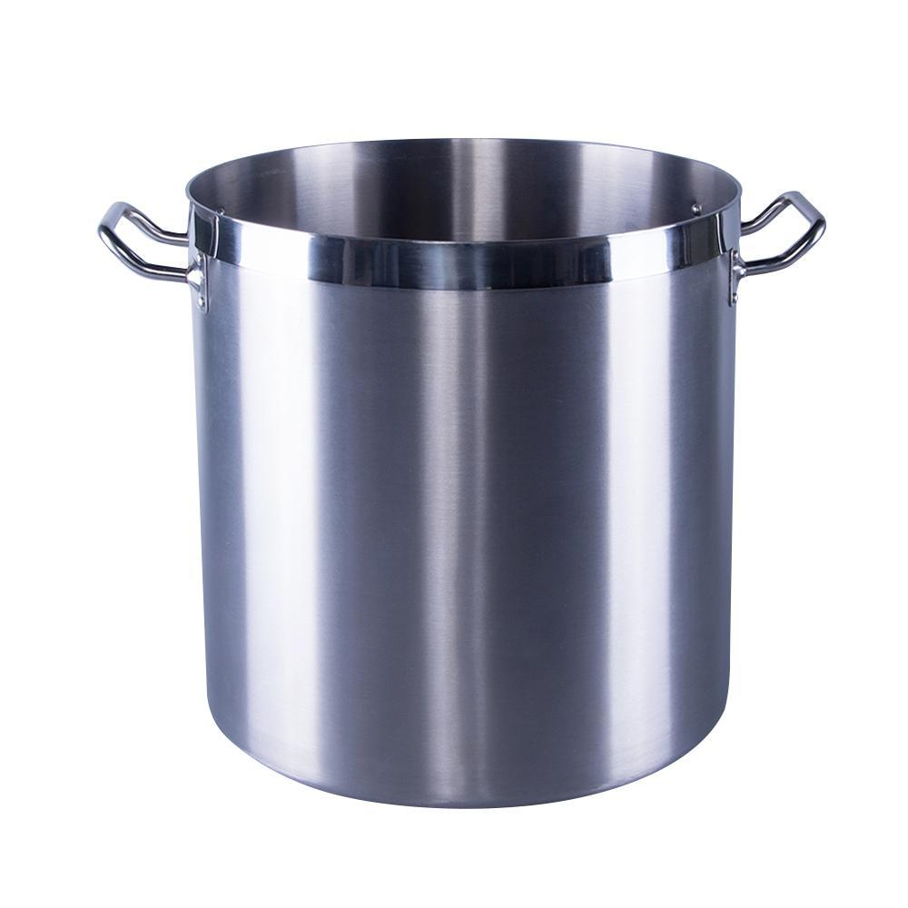 New Commercial Quality Stainless Steel Pot - 71 L / 75 Qt Restaurant Quality Commercial Grade