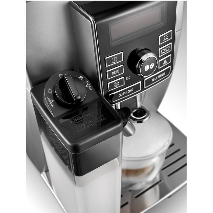 DeLonghi Digital Super Automatic – ECAM 25.462.S Front Milk Carafe