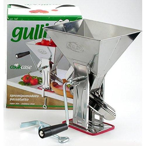 Gulliver Italian Stainless Steel Tomato Machine by OMAC Out of Box Canada