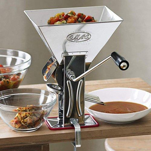 Gulliver Italian Stainless Steel Tomato Machine by OMAC Sauce Canada