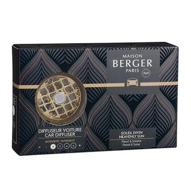 Maison Berger - Anti Odour Car Diffuser - Heavenly Sun