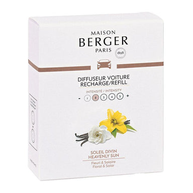 Maison Berger - Anti Odour Car Diffuser Refill - Heavenly Sun