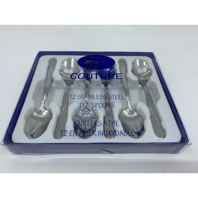 Catering Line couture 12 pc Tea Spoons
