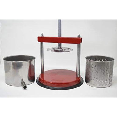 "MEDIUM VEGETABLE / FRUIT PRESS 6""  Base, Basket and Bowl"