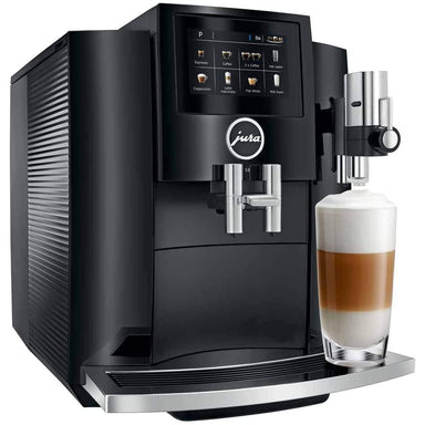 Jura S8 Piano Black Super Automatic Espresso Machine Canada
