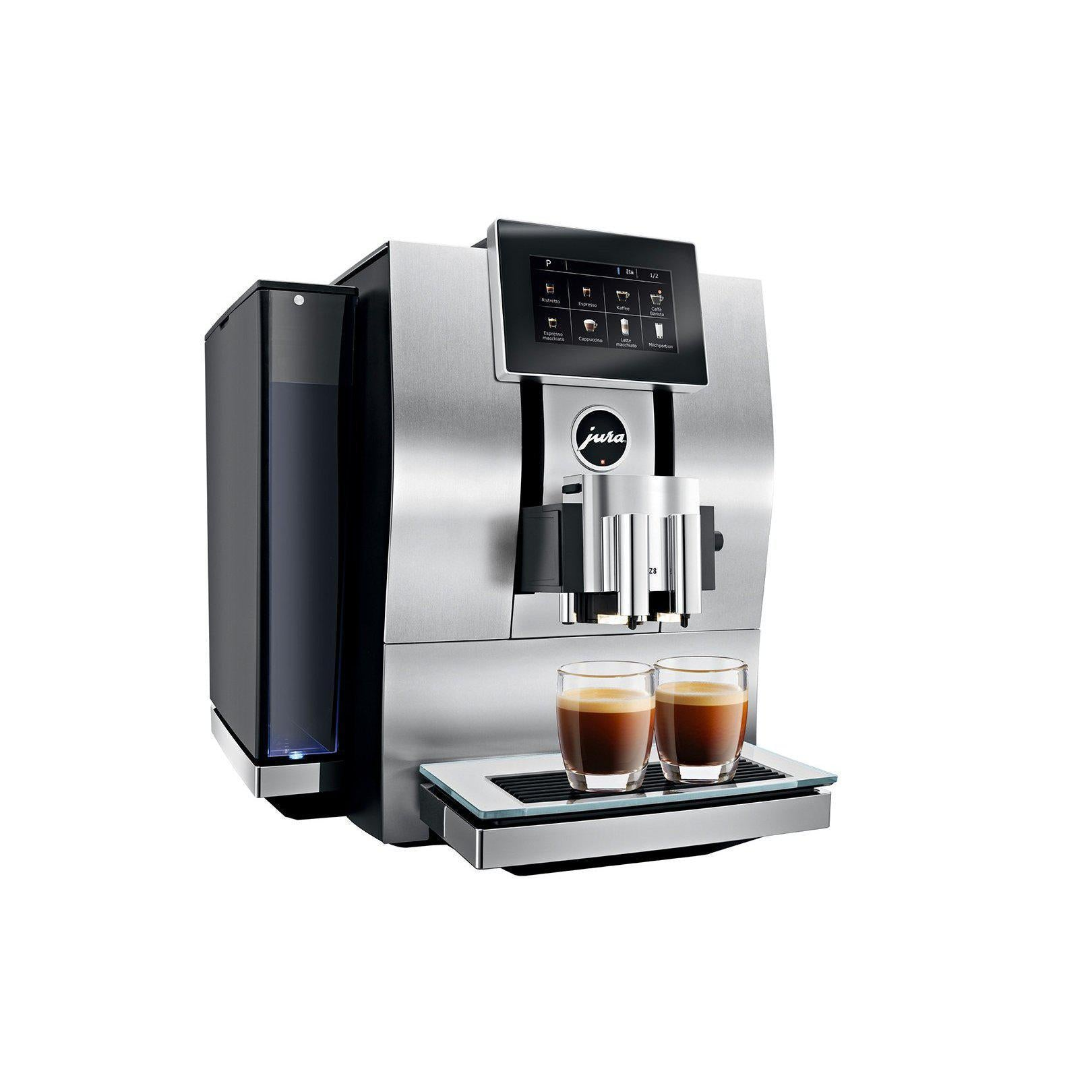 Jura Z8 Espresso Machine Canada Side View