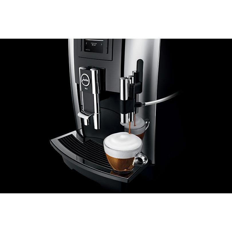 Jura Impressa WE8  Chrome Cappuccino Froth Canada