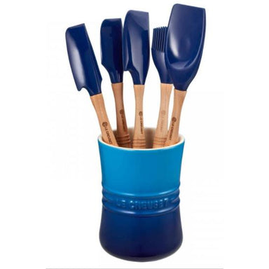 Le Creuset - Blueberry  Revolution Utensil Set