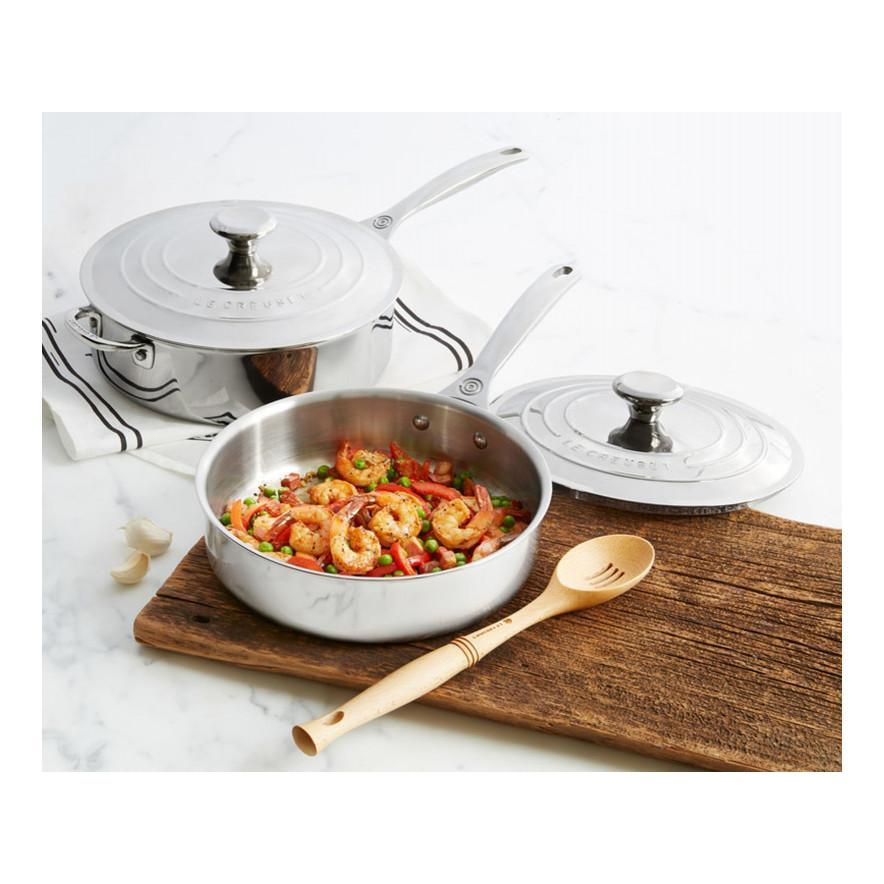 Le Creuset 4.3L/4.5qt Stainless Steel Saute Pan (26 cm) with Lid Canada