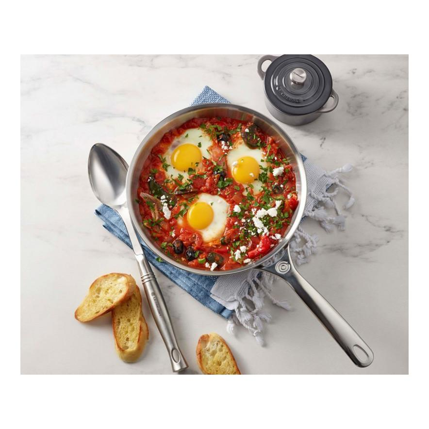 Le Creuset 8 inch Stainless Steel Frying Pan  Eggs Canada