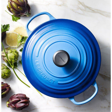 Le Creuset Blueberry Round Top View Canada
