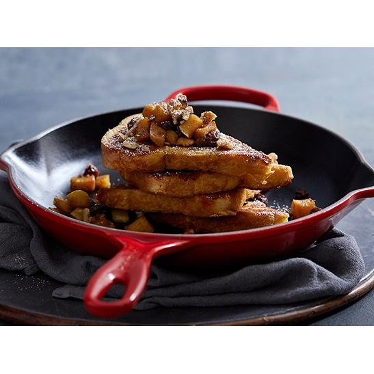 Le Creuset Cherry Red Skillet Round French Toast Canada
