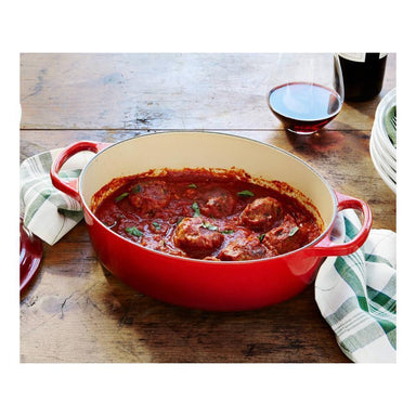 Le Creuset Cherry Red Oval Canada