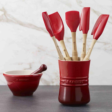 Le Creuset Cherry Red Revolution Utensil Set Canada
