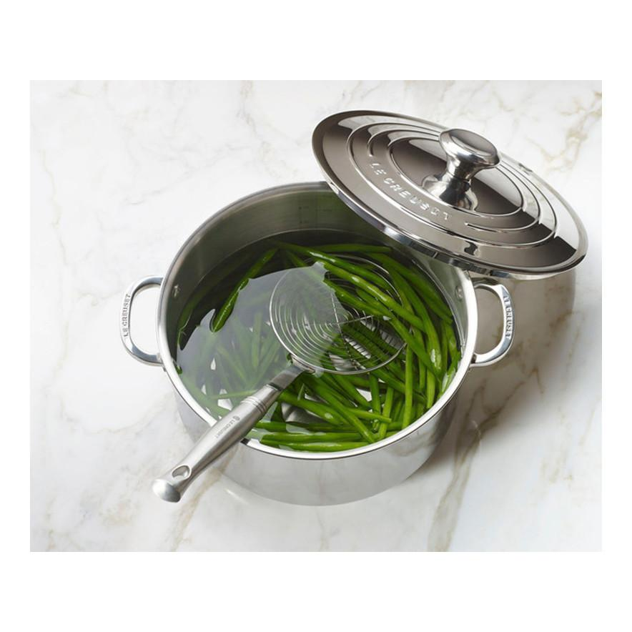Le Creuset Stainless Steel Stockpot (28CM)- SSP3100-28 Green Beans Canada