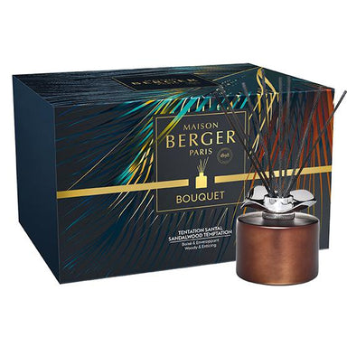 Maison Berger Bouquet  - Temptation Chocolate Reed Diffuser Gift Set