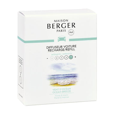 Maison Berger - Anti Odour Car Diffuser Refill - Ocean Breeze