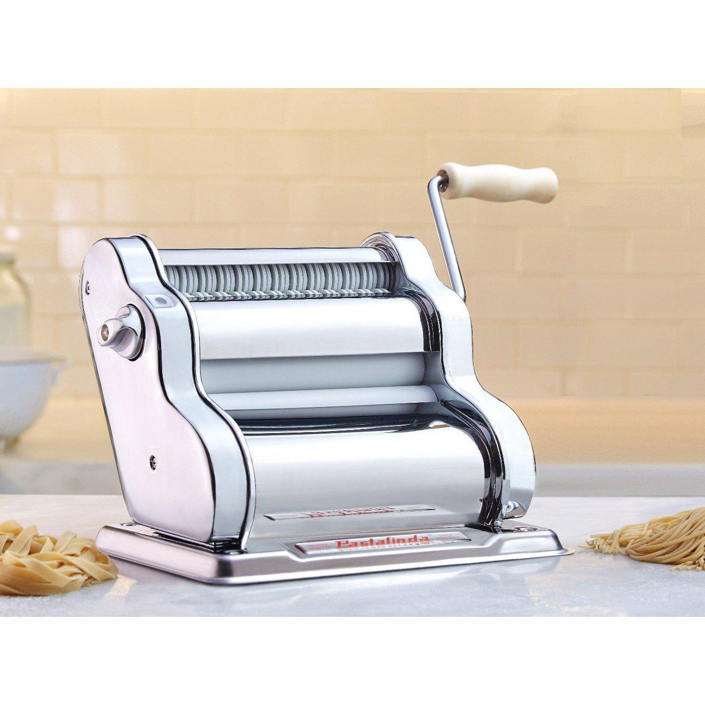 Pastalinda Chrome Pasta Maker