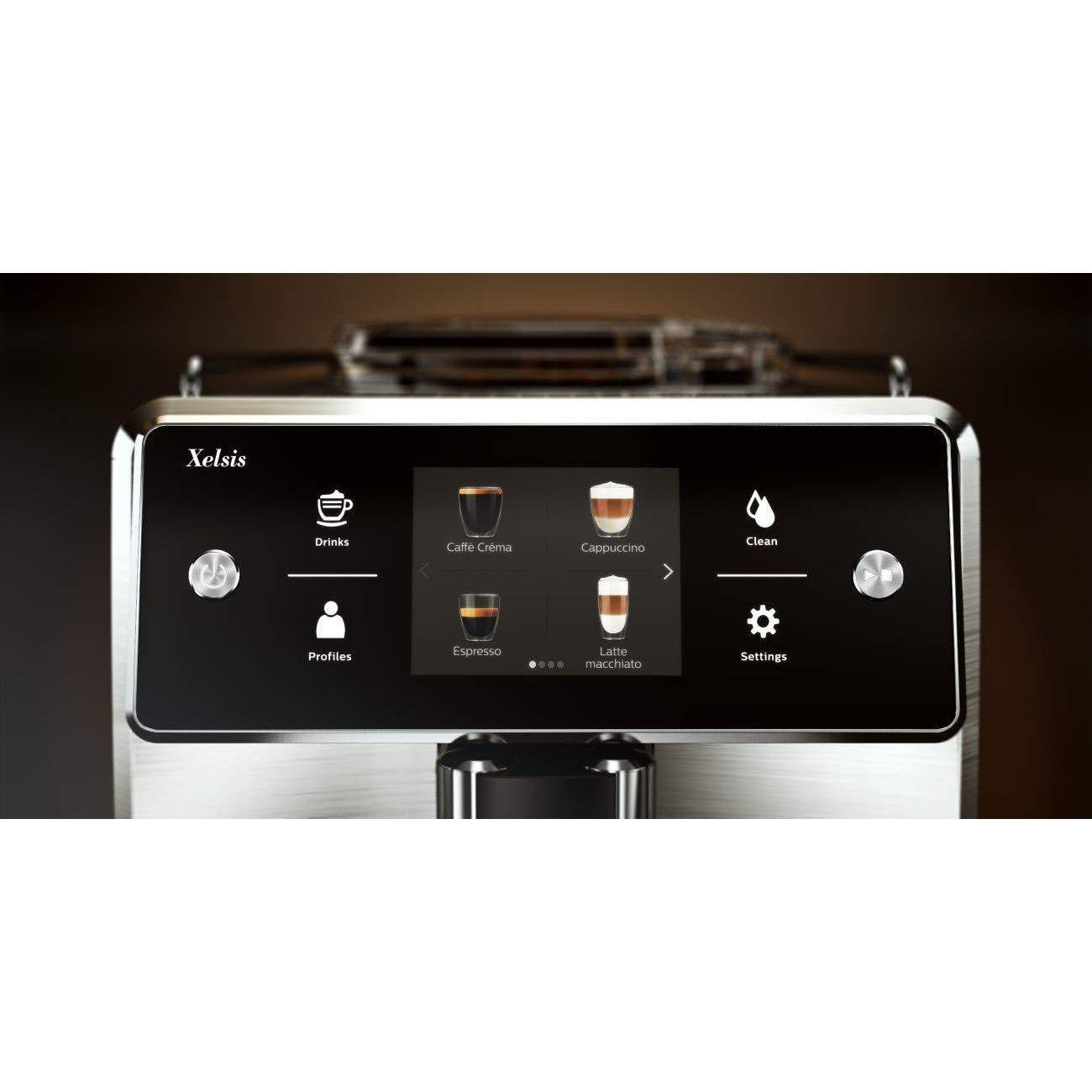 Philips Saeco SM7684/04 Xelsis Titanium Automatic Coffee Machine-Consiglio's Kitchenware