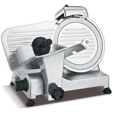 "300ES - 12"" Blade / .33 HP Professional Semi Automatic Meat Slicer Open Box - Dented Base"