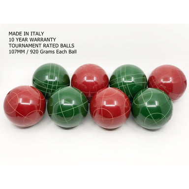 Super Martel Professional Tournament Bocce Balls Canada
