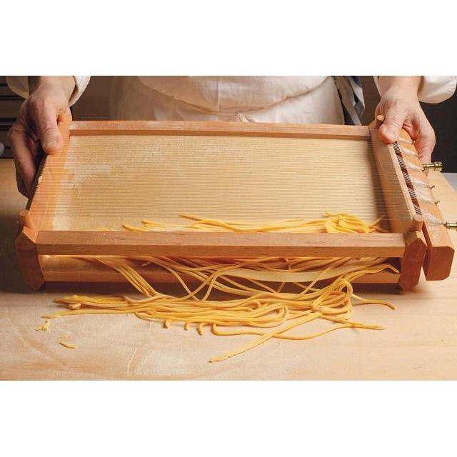 The Authentic Chitarra Pasta Maker Making Homemade Pasta Canada