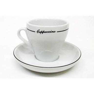 Armand Lebel Cappuccino 12 Piece Cup & Saucer Set - Tall Line Design-Consiglio's Kitchenware