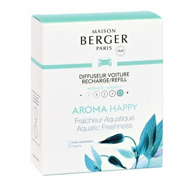 Maison Berger - Anti Odour Car Diffuser Refill - Aroma Happy