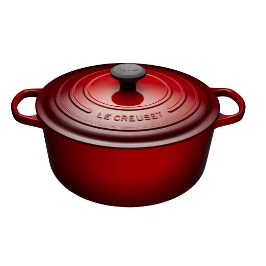 Le Creuset - 8.5L Cherry Red French/ Dutch Oven (30 cm) - LS2501-3067