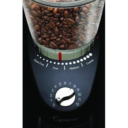 Infinity Plus Capresso Conical Burr Grinder Black Canada