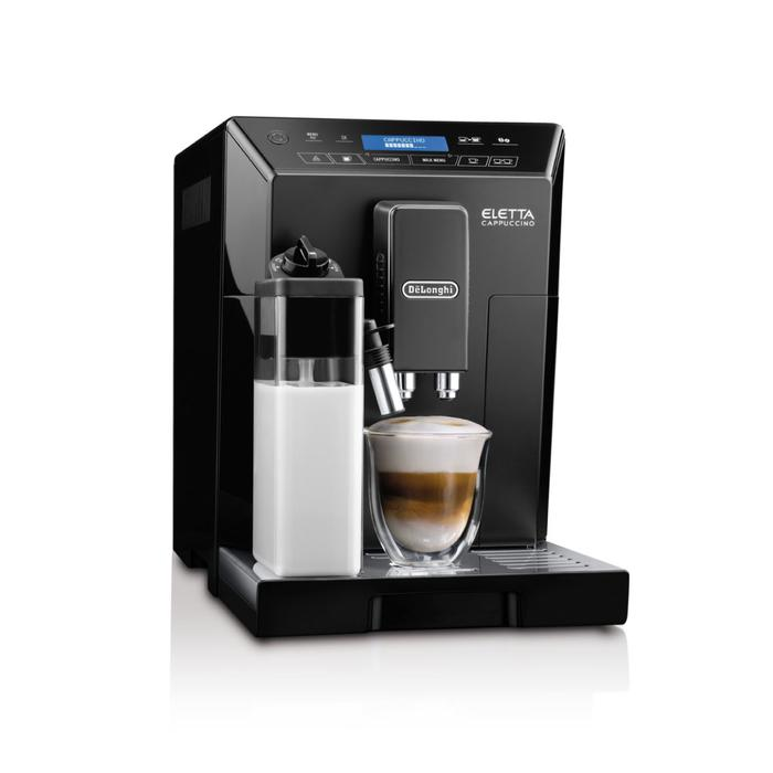 Delonghi Eletta Black Super Automatic Espresso Machine ECAM44660B