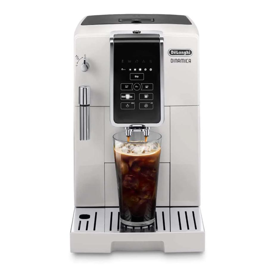 DeLonghi ECAM35020W Dinamica TrueBrew Super Automatic Espresso Machine White