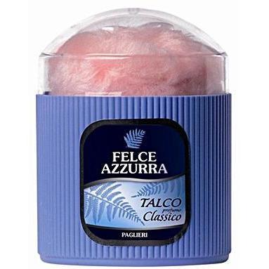 Felce Azzurra Classico 250g Body Powder With Fluff Applicator-Consiglio's Kitchenware