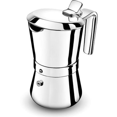 Giannina 3 cup Stainless Steel Stove Top Espresso Maker-Consiglio's Kitchenware