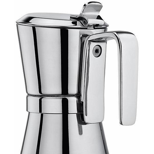 Giannina 6 Cup Stainless Steel Stove Top Espresso Maker-Consiglio's Kitchenware