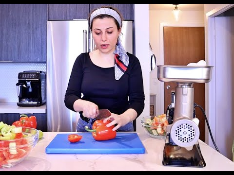 How to Make Portuguese Hot Red Pepper Paste with Fabio Leonardi Grinder