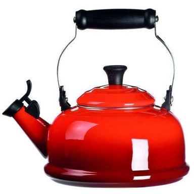 Le Creuset 1.6L Cherry Red Classic Whistling Kettle-Consiglio's Kitchenware
