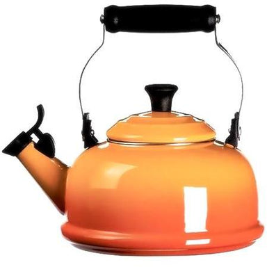 Le Creuset 1.6L Flame Orange Classic Whistling Kettle 1.6L-Consiglio's Kitchenware