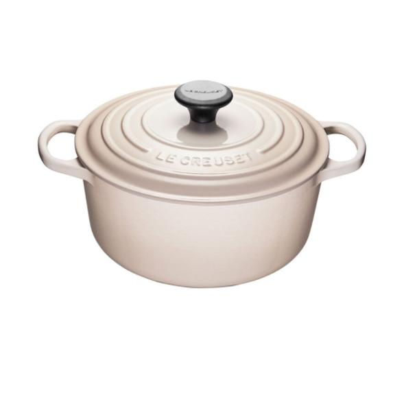 Le Creuset 4.2L Meringue French/ Dutch Oven (24cm) - LS2501-249N