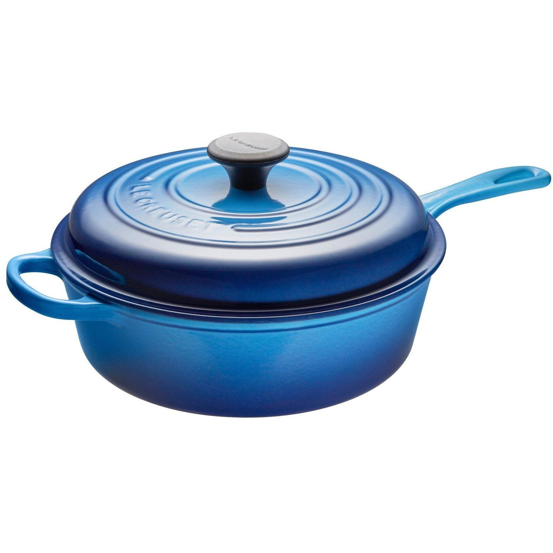 Le Creuset 3.6L Blueberry Sauté Pan-Consiglio's Kitchenware