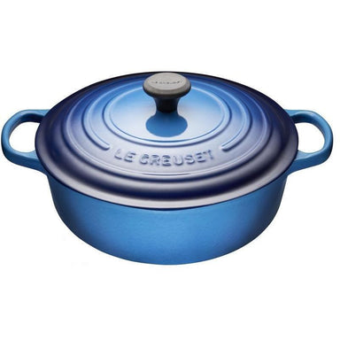 Le Creuset - 6.2L Blueberry Shallow French / Dutch Oven-Consiglio's Kitchenware