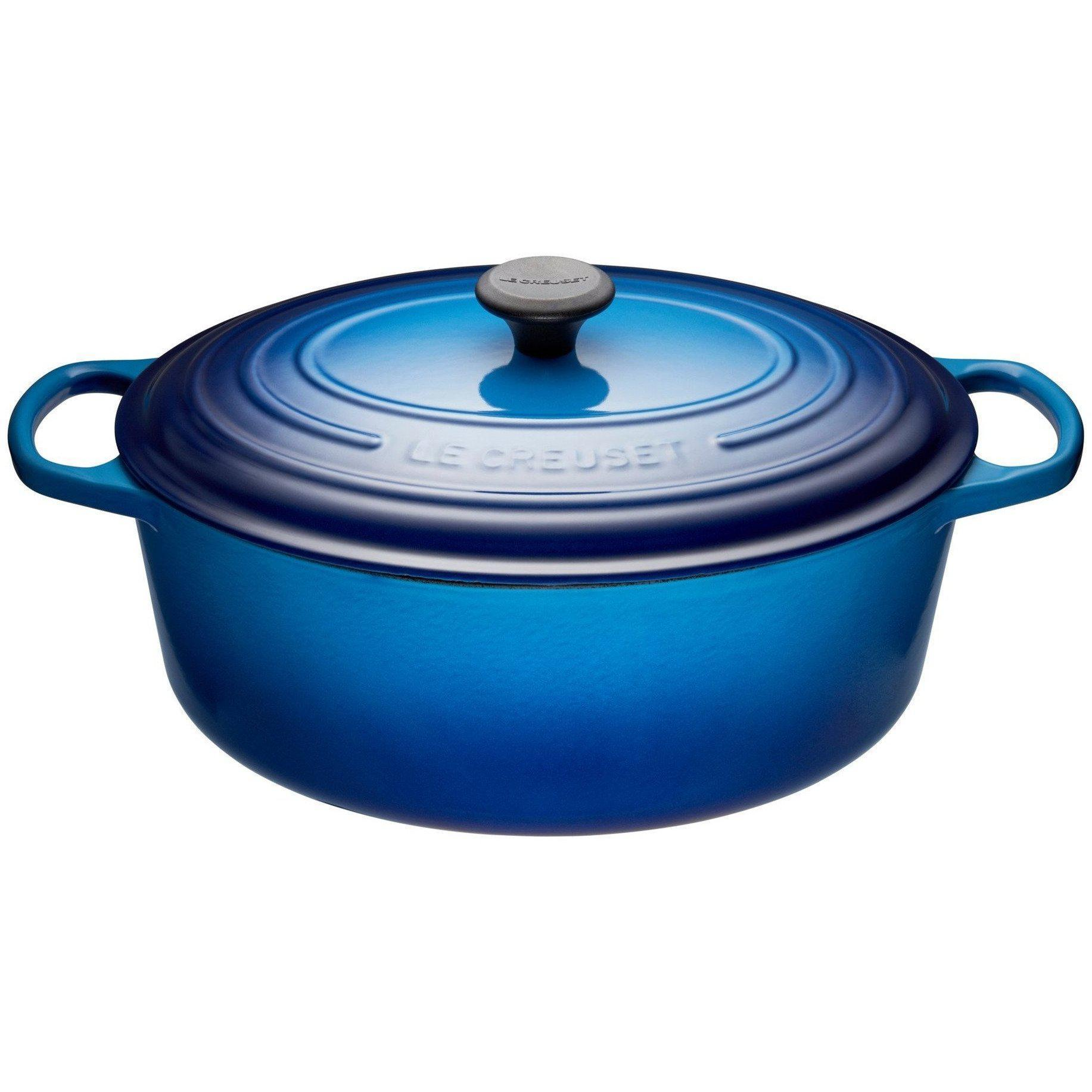 Le Creuset 6.3L Blueberry Oval French/Dutch Oven (31 cm)-Consiglio's Kitchenware