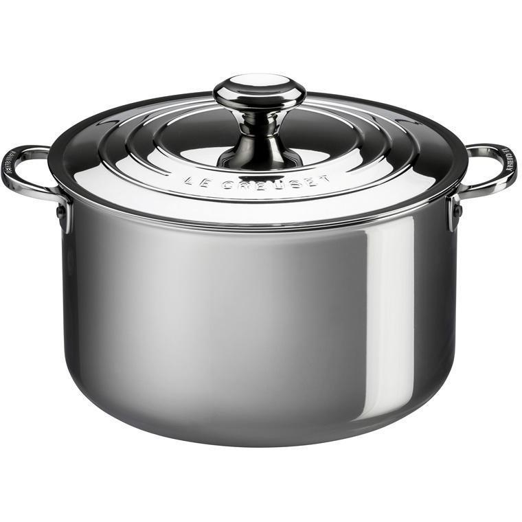Le Creuset 6.6L/7qt Stainless Steel Stockpot (24cm)-Consiglio's Kitchenware