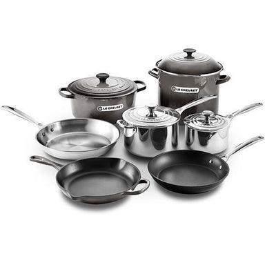 Le Creuset - Oyster Ultimate Cookware Set-Consiglio's Kitchenware
