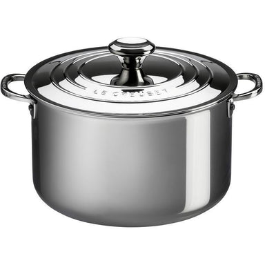 Le Creuset Stainless Steel Stockpot (28CM)-Consiglio's Kitchenware