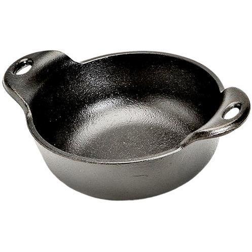 Lodge - 12 oz. Pre-Seasoned Cast Iron Mini Serving Bowl-Consiglio's Kitchenware