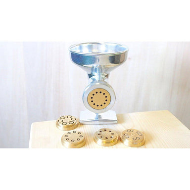 Extruder Premium Pasta with 5 Brass Dies Made in Italy