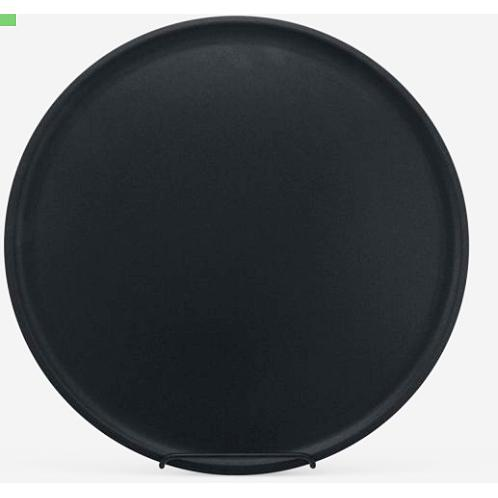 Black Steel Round Pizza Genius Pan Deep 14'' X 1 1/2''