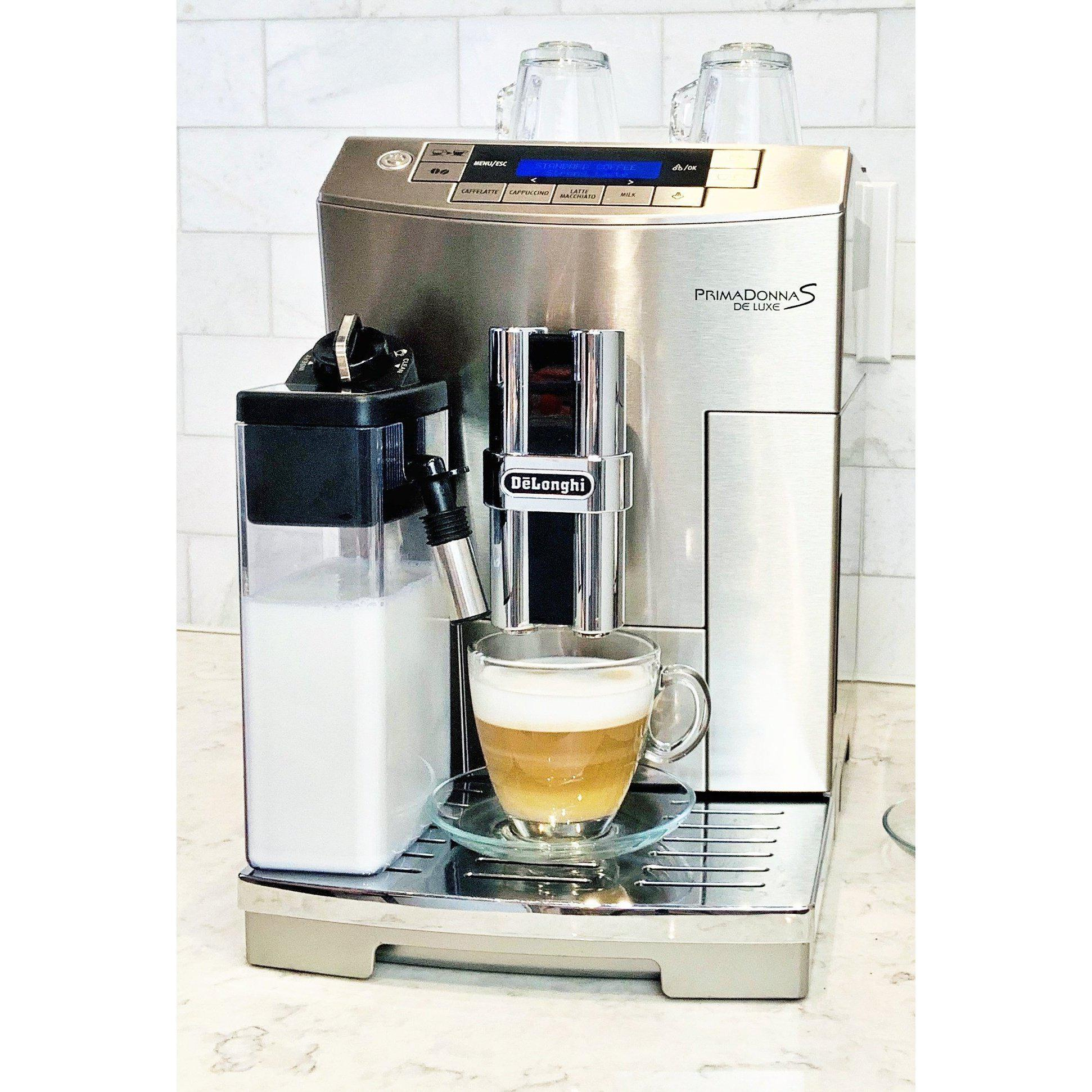 DeLonghi Prima Donna Super Automatic Deluxe Espresso Machine - ECAM28465M