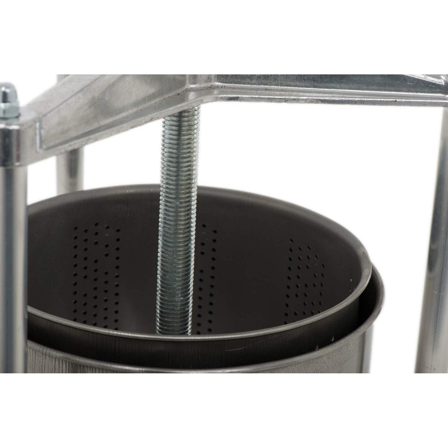 Small Professional Torchietto Interior Perforated Stainless Steel Basket